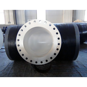 3LPE Flanged Equal Tee, ASTM A234 WPB, 24 Inch, 150#