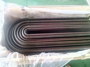 Alloy Steel U Type Tube, ASTM A213 T9, Plain Ends
