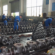 OEM Workshop of Valves